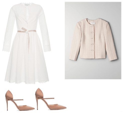 Outfit formal para cuerpo triángulo