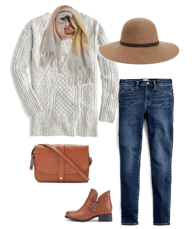 Casual Sweater Outfit for Fall