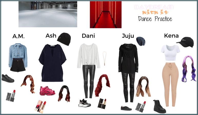 "DayDream ""Kick It"" Dance Practice"