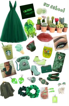green as a teen