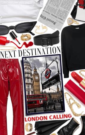 Next Destination: London