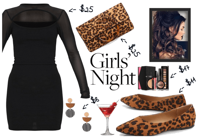Complete Girls Night Look on a $100 Budget
