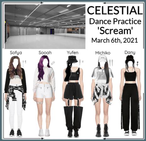 세레스티알 (Celestial) | 'Scream' Dance Practice
