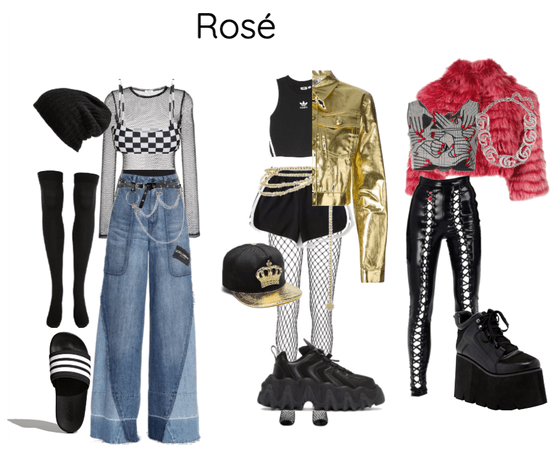 rose outfits