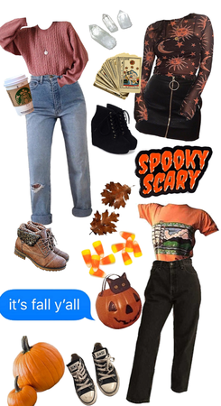 different Halloween/fall aesthetics!!