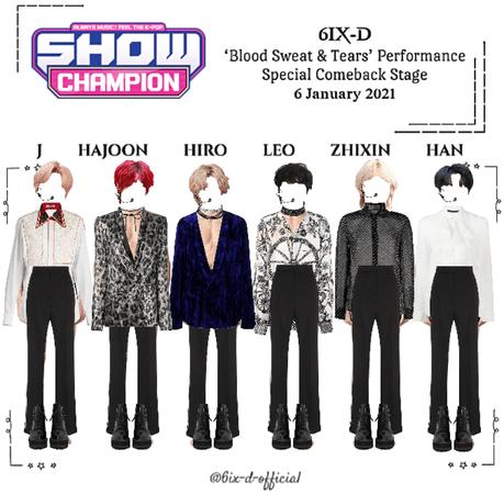 6IX-D [씩스띠] Show Champion 210106
