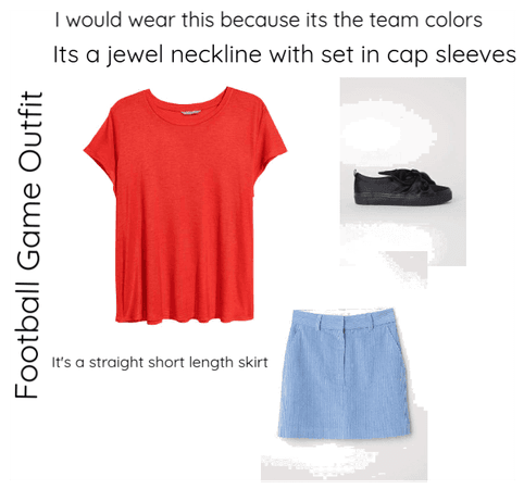 Football Game Outfit
