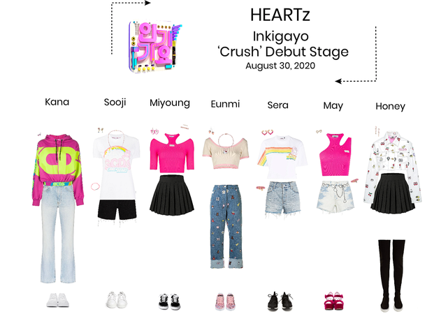 HEARTz// 'Crush' Debut Stage Inkigayo