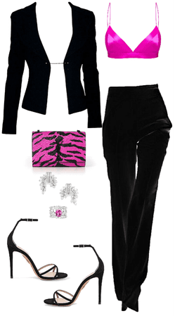 NEON PINK & BLACK | OUTRAGEOUS