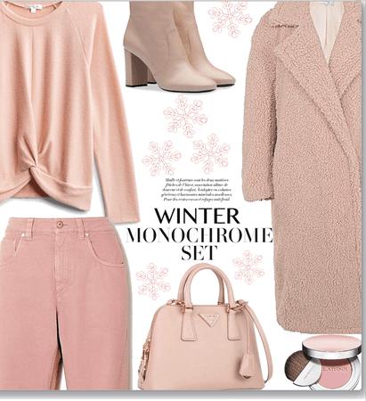 Winter ❄️ monochrome set