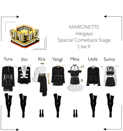 MARIONETTE (마리오네트) [Inkigayo] 'Like It'   Special Comeback Stage