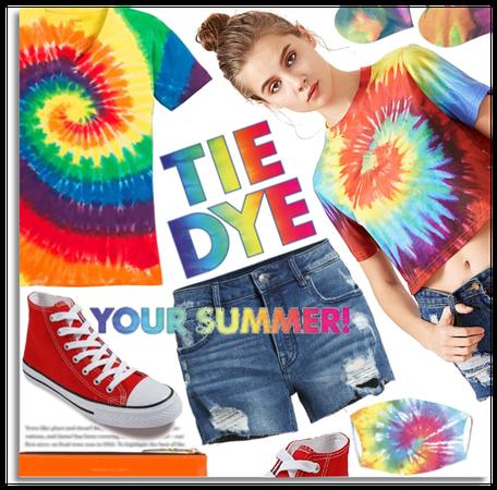 Tie dye your summer