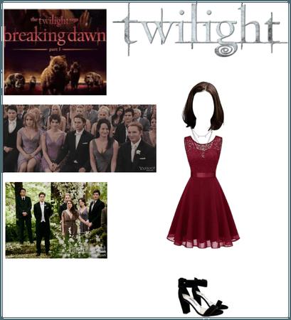 Twilight oc Jacy Black: wedding outfit