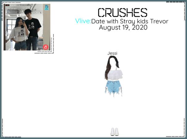 Crushes (호감) [Jessi] Surprise Vlive w/ Trevor
