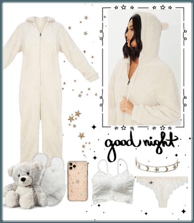 Snuggles with teddybear