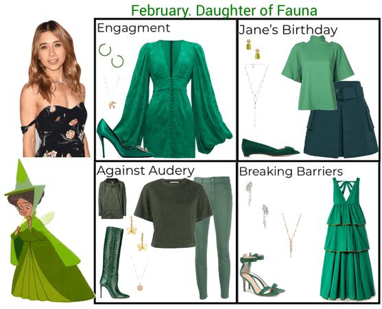 February. Daughter of Fauna. Descendants 3