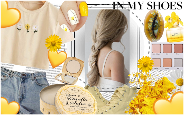 """""""Yellow Aesthetic Daisy Fit"""""""