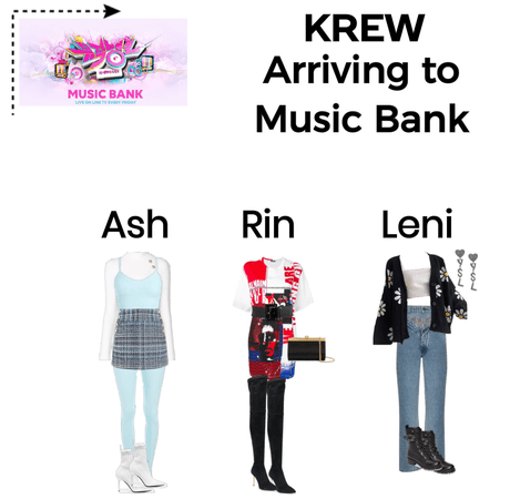 KREW Arriving to Music Bank