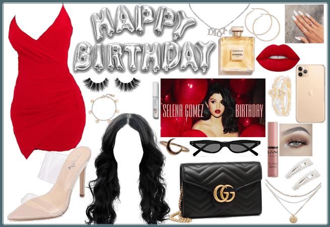 Seleana's birthday bash