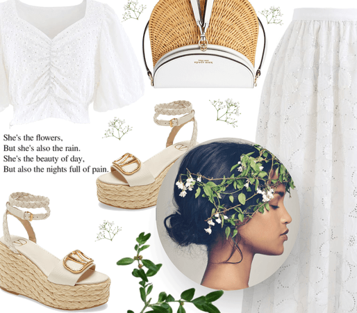 Spring Florals: White Silence