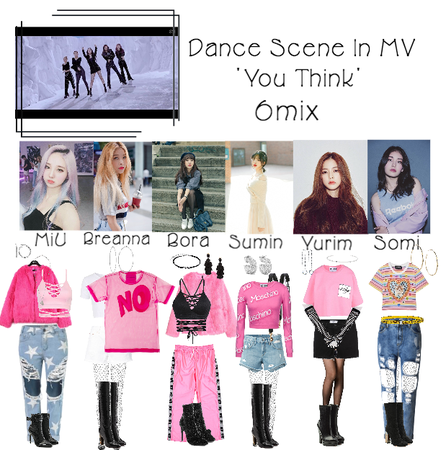 6Mmix - 'You Think' MV 1st Dance Scene