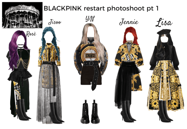 BLACKPINK restart photoshoot pt 1