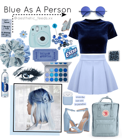 Blue As A Person