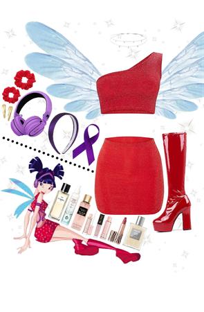 Winx Club Musa Costume
