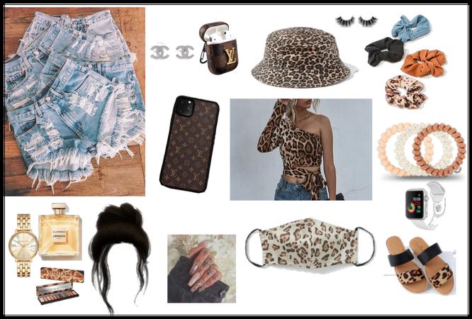leopard print trendy