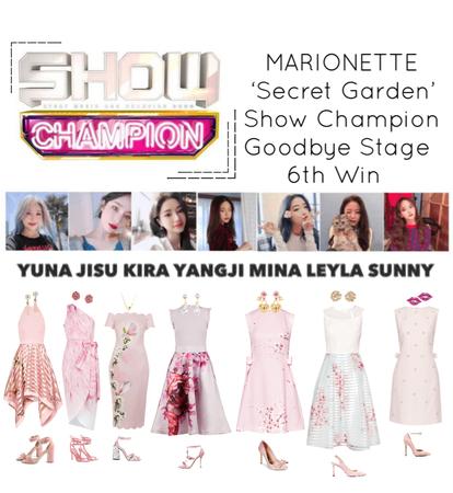{MARIONETTE} Show Champion Goodbye Stage 'Secret Garden' 6th Win