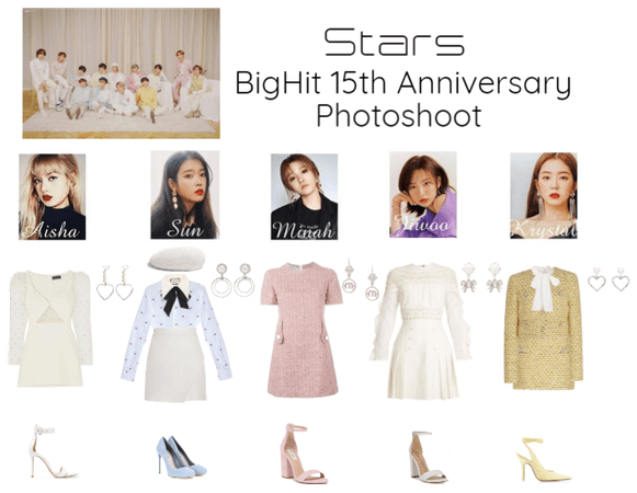 STARS | Bighit 15th Anniversary Photoshoot
