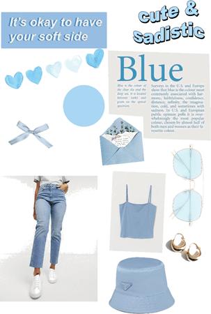 blue 🦋💙🧢