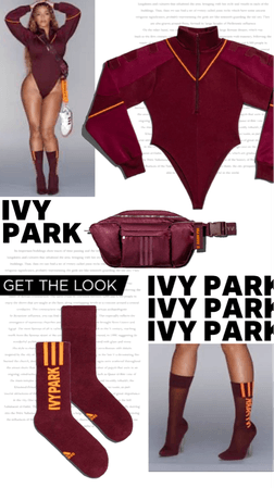 beyonce's outfit   IVY Park x Adidas