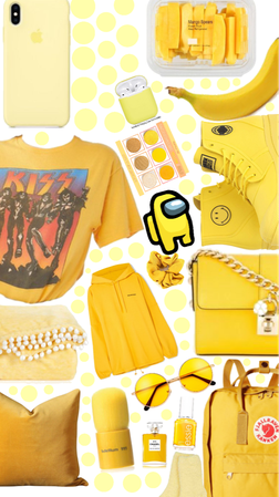 Yellow. one color