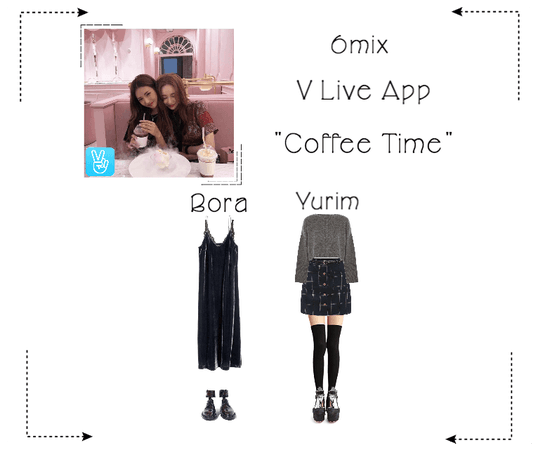 《6mix》V Live App: Coffee Time With Bora & Yurim