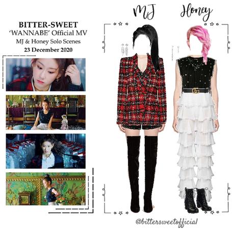 BITTER-SWEET [비터스윗] (MJ & HONEY) 'WANNABE' Official MV 201223