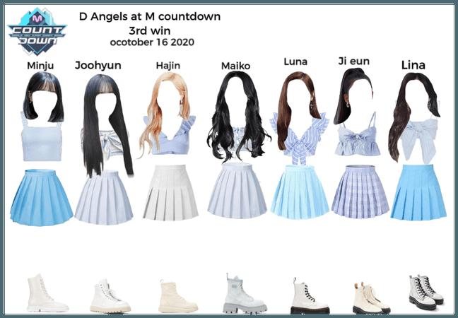 D angels m countdown 3rd win hylt