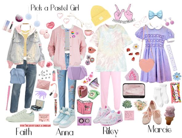 Pick a Pastel Girl