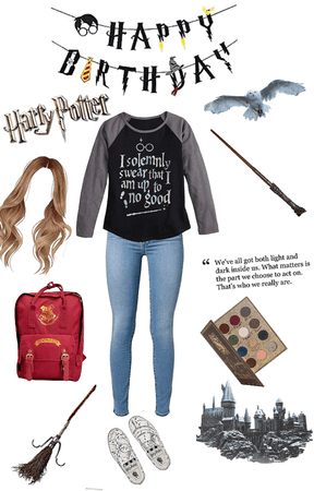 happy birthday Harry Potter!😙