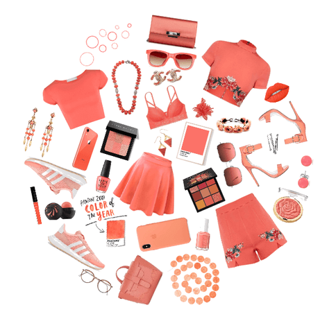 pantone color of 2019 aka my fav color - coral