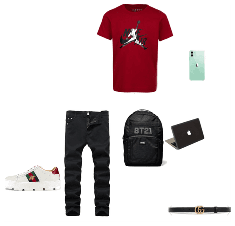 high school out fit