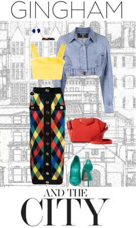 Gingham and the city