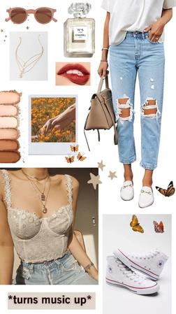 casual butterflies