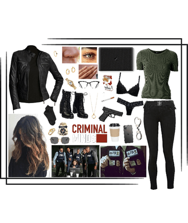 My character in Criminal Minds 🕵🏻♀️