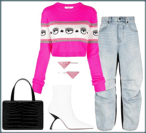 pink+jean