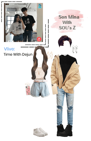Mina (미나) Vlive: Time With Dejun (description)