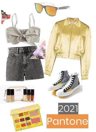 2021 Pantone (Grey and Yellow)
