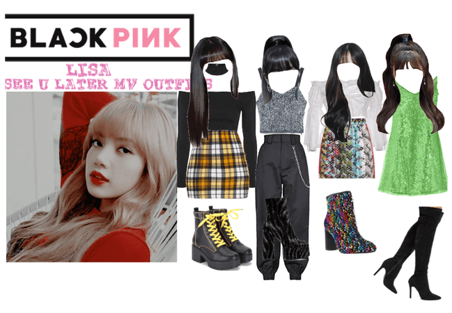 BLACKPINK  Lisa See U Later MV Outfits