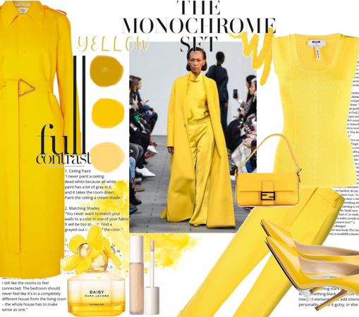 Yellow monochrome