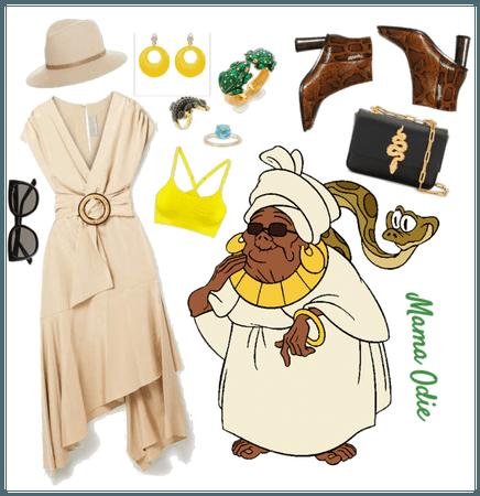 Mama Odie outfit - Disneybounding - Disney